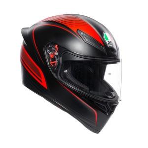 AGV K1 Warmup Nero/Rosso