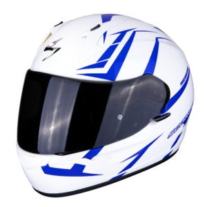 Scorpion EXO-390 Hawk Bianco/Blu