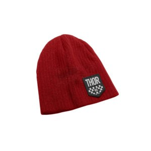 Thor Beanie Chex Red