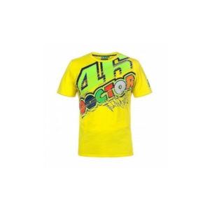 VR46 T-Shirt Yellow Man