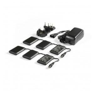 Macna Kit Completo Batteria+Caricabatteria 12Volt 3A per Guanti/Calze