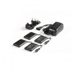 Macna Kit Completo Batteria+Caricabatteria 7,4Volt 3A per Guanti/Calze