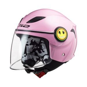 LS2 OF602 Mini Funny Pink